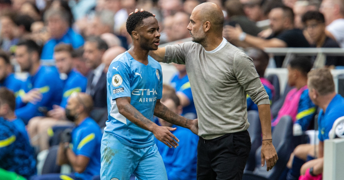 Guardiola has opened the City exit door for Sterling after the England star's comments