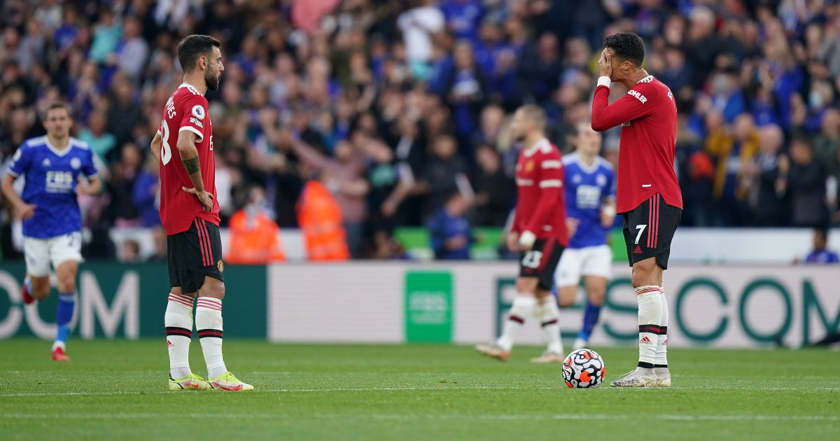 Solskjaer intervention stopped 'livid' Ronaldo storming off again after Man Utd loss