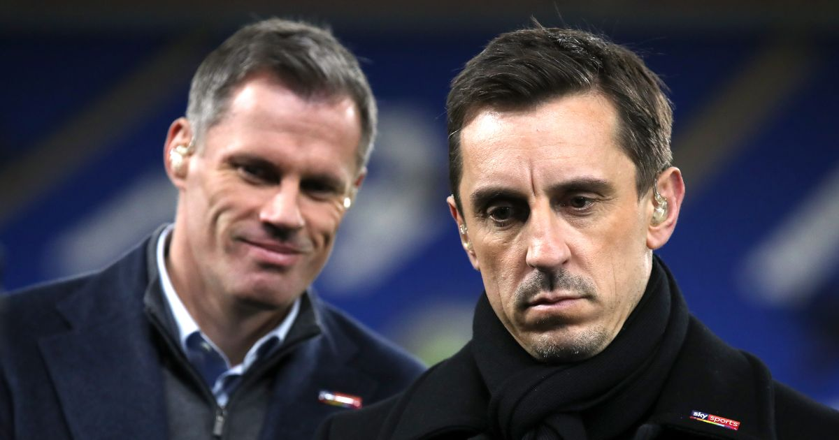 Carra, Neville disagree over three in Liverpool-Man Utd combined XI - Football365
