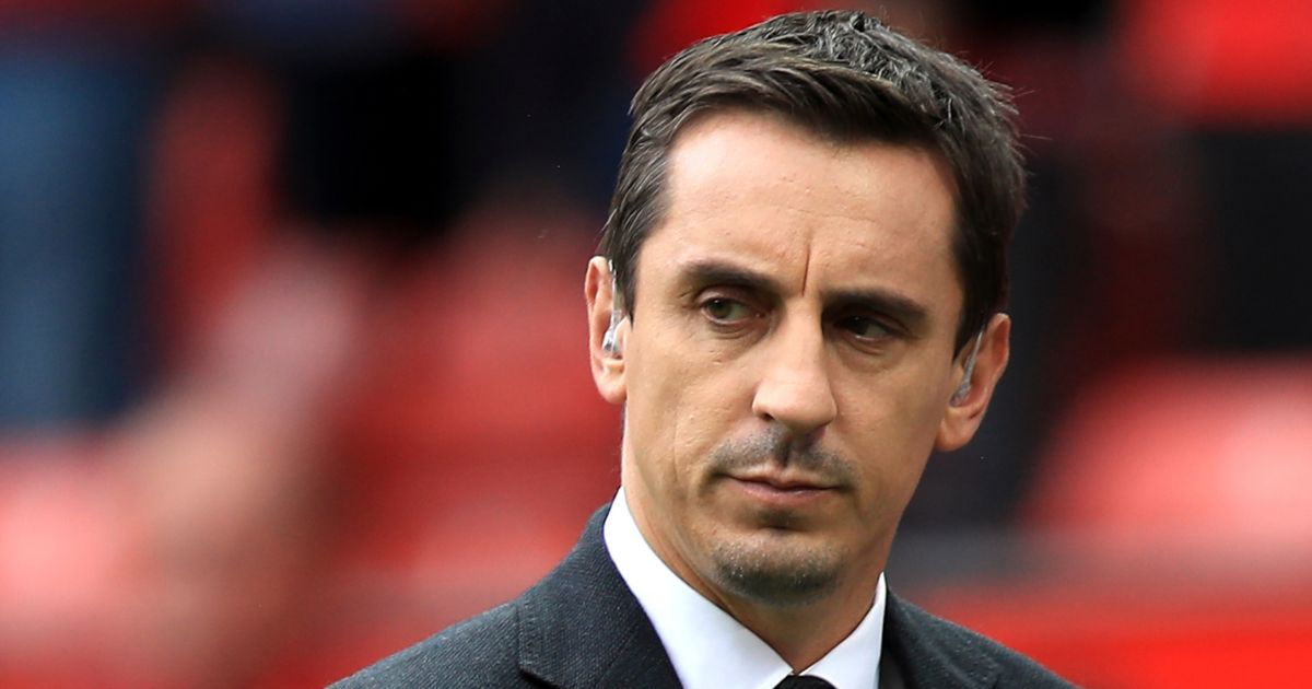 Neville hits back at journo over Solskjaer sack argument