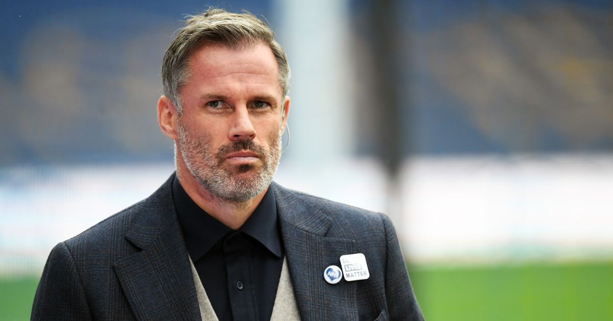 'Embarrassed' Jamie Carragher opens up on the 'pain' after spitting incident