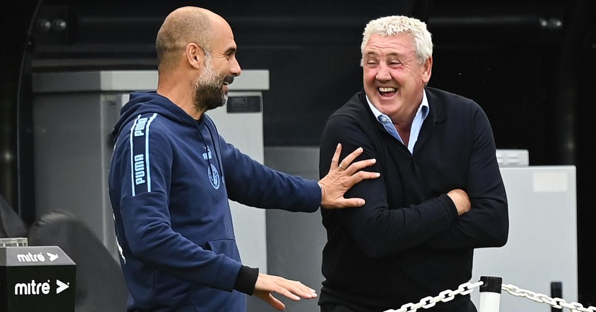 Man City boss Pep Guardiola urges Steve Bruce to ignore the 'bull****'