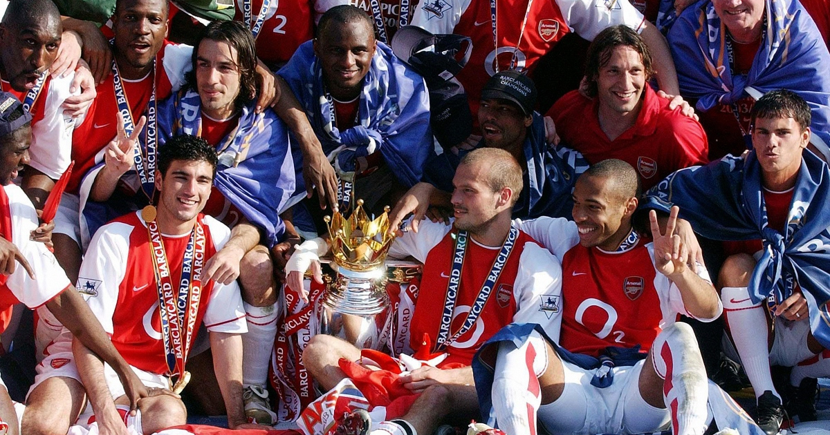 Ranking the 21 Arsenal invincibles by their level of importance to the team - Football365