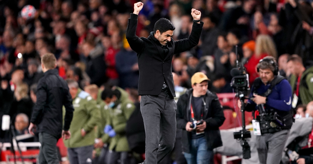 Arteta has hailed his young players and VAR after Arsenal's win against Aston Villa