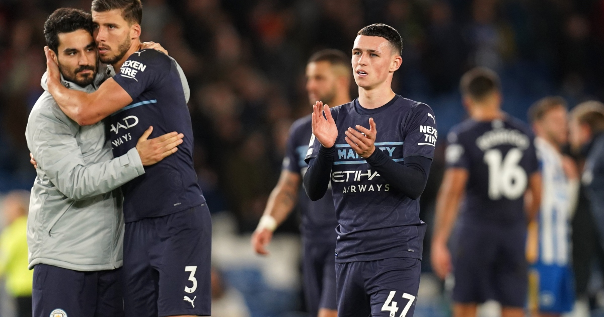 F365 Says: Strikerless City thrill again with Foden through the middle