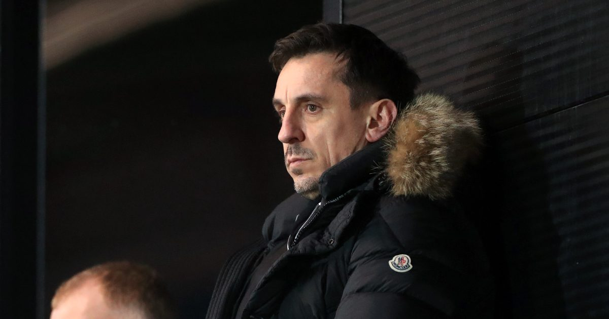 Neville claims Manchester United are on the brink of a 'devastatingly bad start' in the Premier League