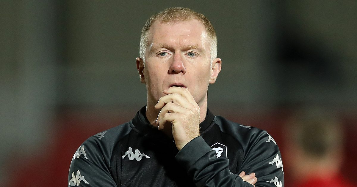 Scholes slates 'disrespectful' midfielder who should not play for Manchester United again