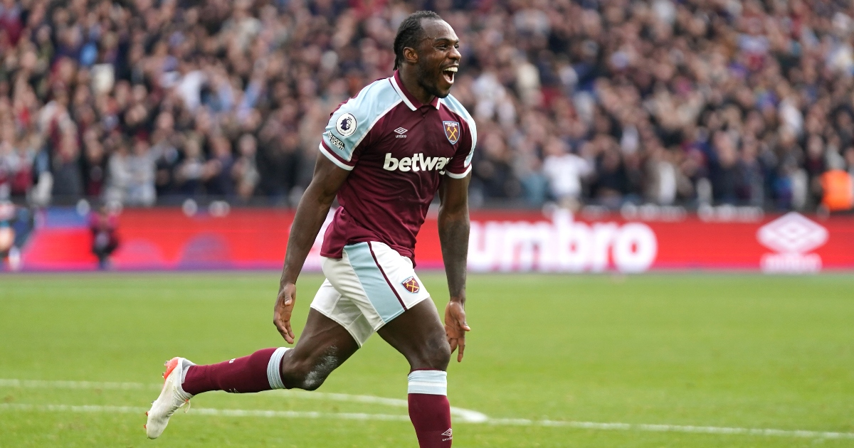 Antonio reveals he was 'surprised' to score against Spurs during Sunday's 1-0 win