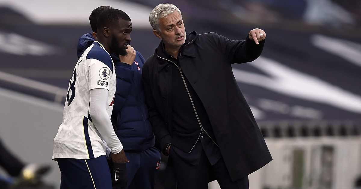 Mourinho wants to bring his 'old favourite' Ndombele from Tottenham to Roma