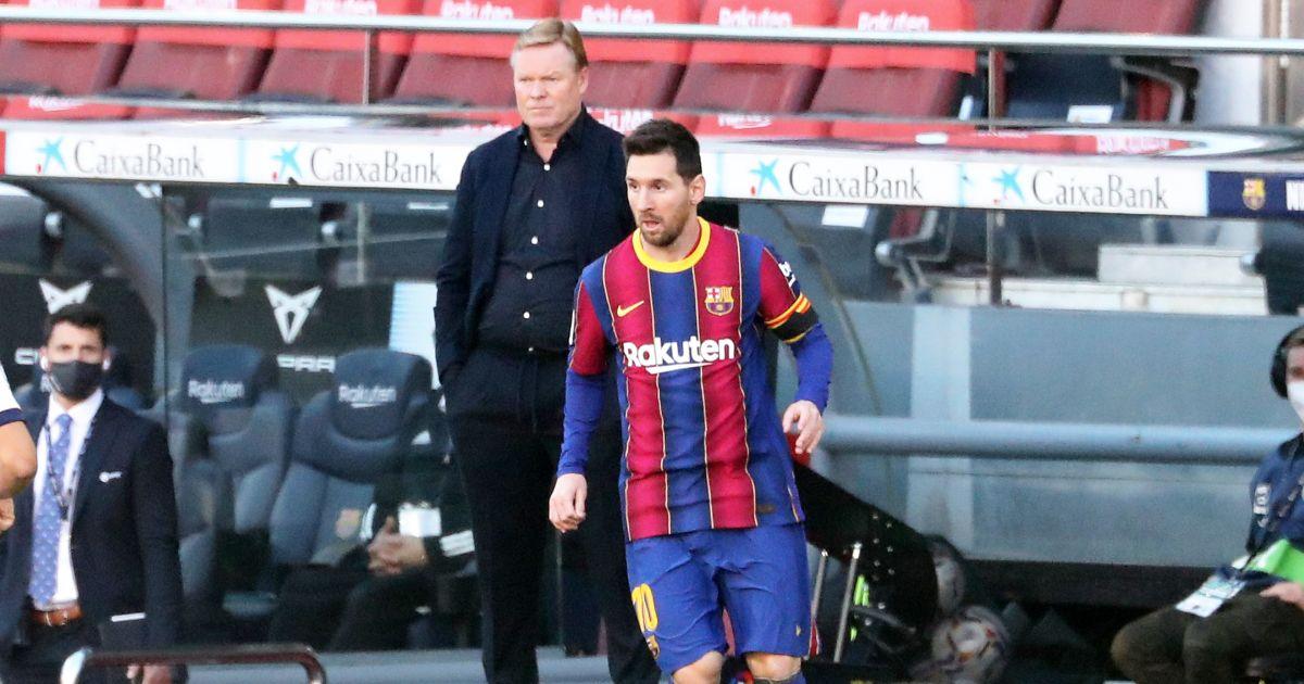 PSG star Lionel Messi tells Barcelona his pick to replace Ronald Koeman